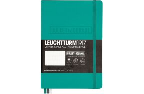 ΣΗΜΕΙΩΜΑΤΑΡΙΟ LEUCHTTURM BULLET JOURNAL MEDIUM  Α5 EMERALD